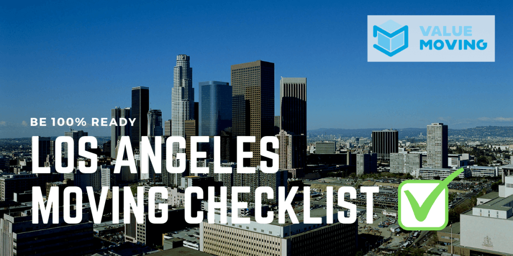 The Moving in Los Angeles Checklist